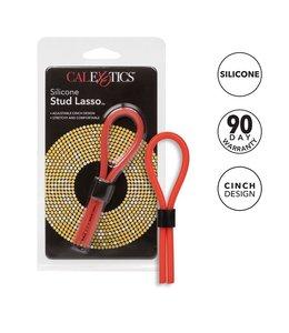 CalExotics Silicone Stud Lasso C-Ring - Red