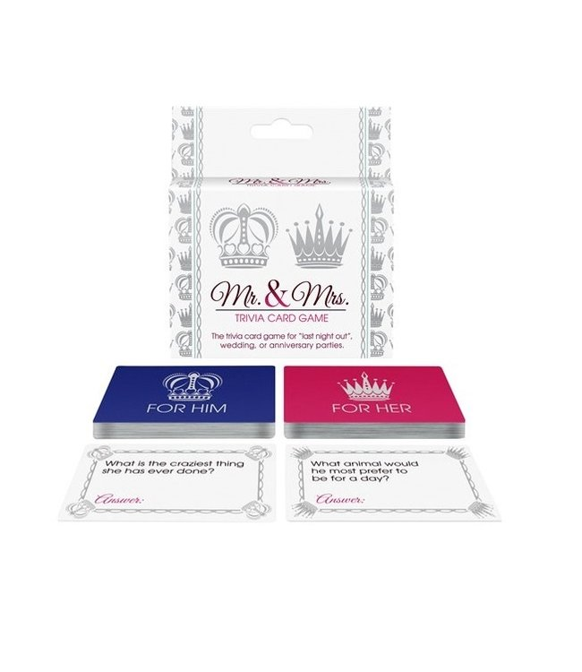 Kheper Games Mr. & Mrs. Trivia Card Game