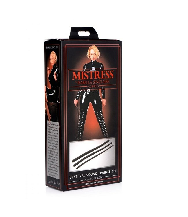 Mistress by Isabella Sinclaire Isabella Sinclaire Silicone Urethral Sound Trainer Set