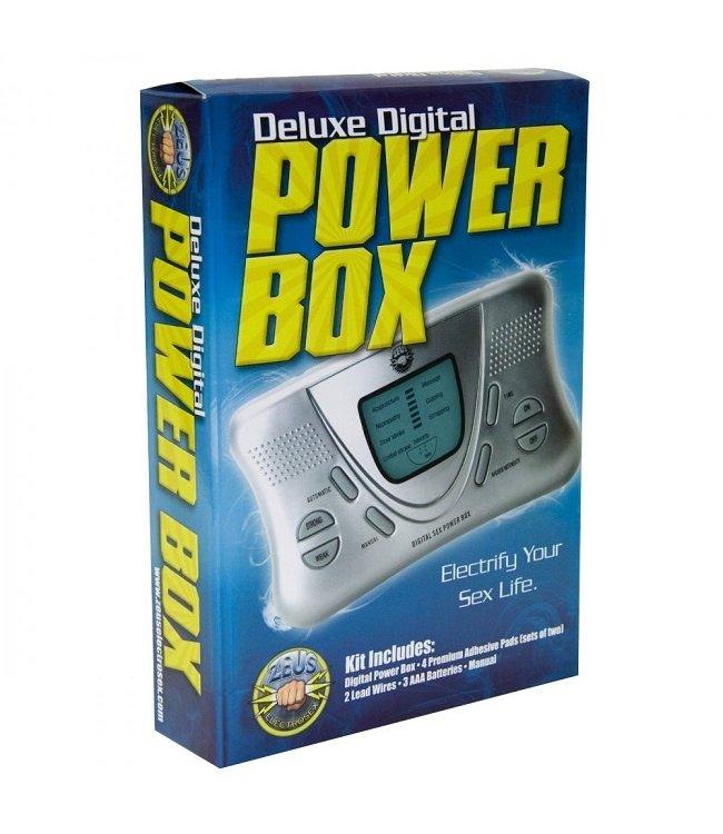 Zeus Electrosex Zeus Electrosex Deluxe Digital Power Box