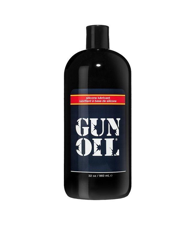 Gun Oil Gun Oil Silicone-Based Lubricant 32oz