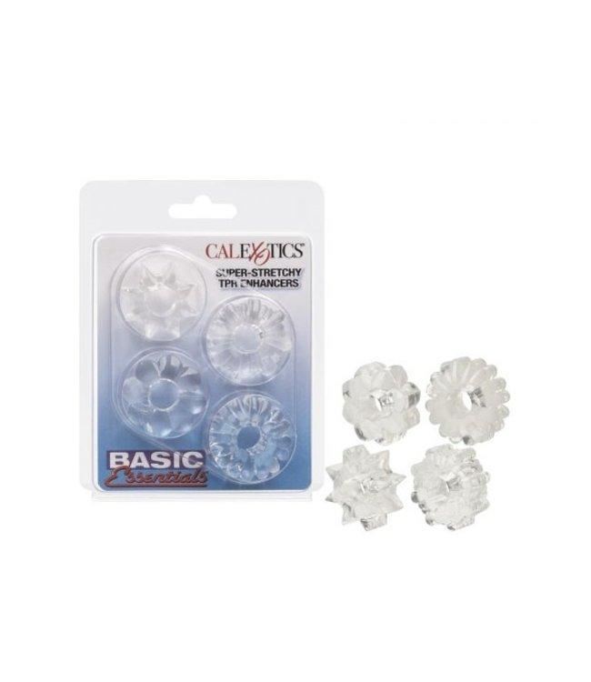 CalExotics Basic Essentials Super Stretchy TPR Enhancers