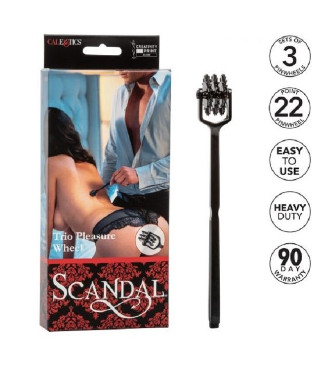 CalExotics Scandal Trio Pleasure Wheel
