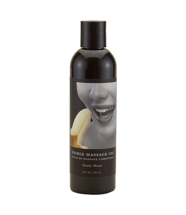 Earthly Body Edible Massage Oil 8oz