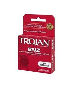 Trojan Trojan Enz Non-lubricated condoms 3pk