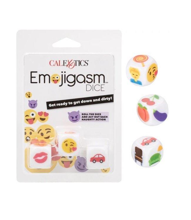 CalExotics Emojigasm Dice