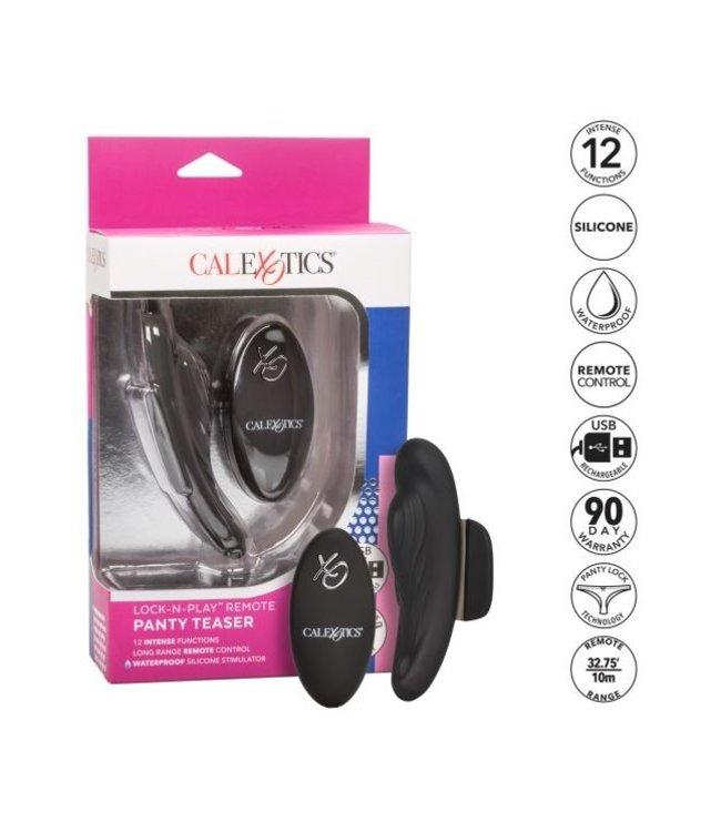 CalExotics Lock-N-Play Remote Panty Teaser