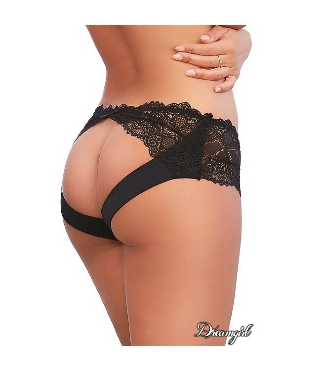 Dreamgirl Dreamgirl Open Rear Lace Panty