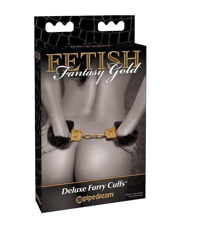 Fetish Fantasy Gold Fetish Fantasy Gold Deluxe Furry Cuffs
