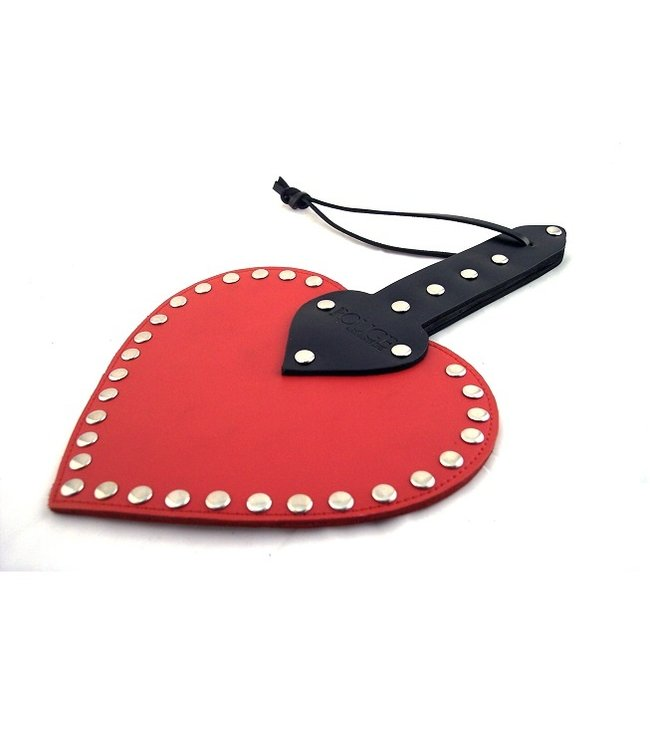 Rouge Rouge Leather Heart Paddle