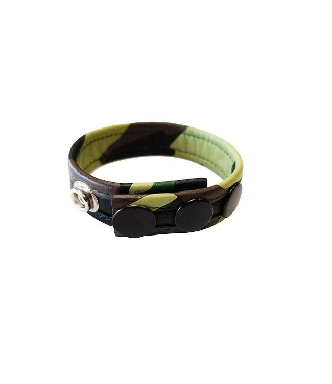 Rouge Rouge Leather Camo Cockstrap