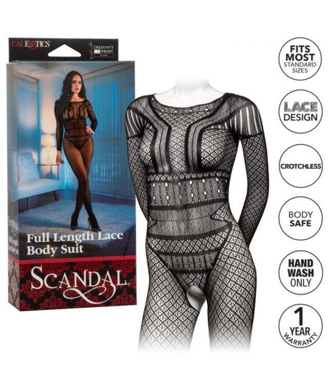 CalExotics Scandal Full Length Lace Body Suit