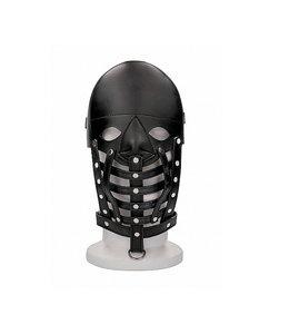 Shots America Leather Mask - Black