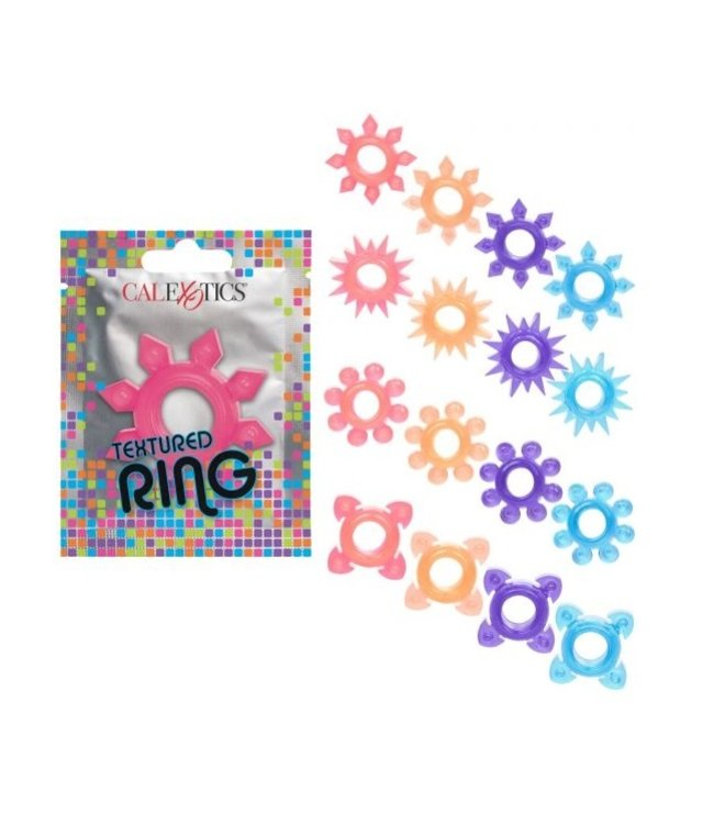 CalExotics Foil Pack Textured Ring