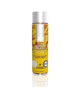 System JO JO H2O Lemon Splash Flavoured Lubricant 4oz