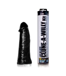 Clone-A-Willy Clone-A-Willy Vibrating Dildo Kit - Jet Black