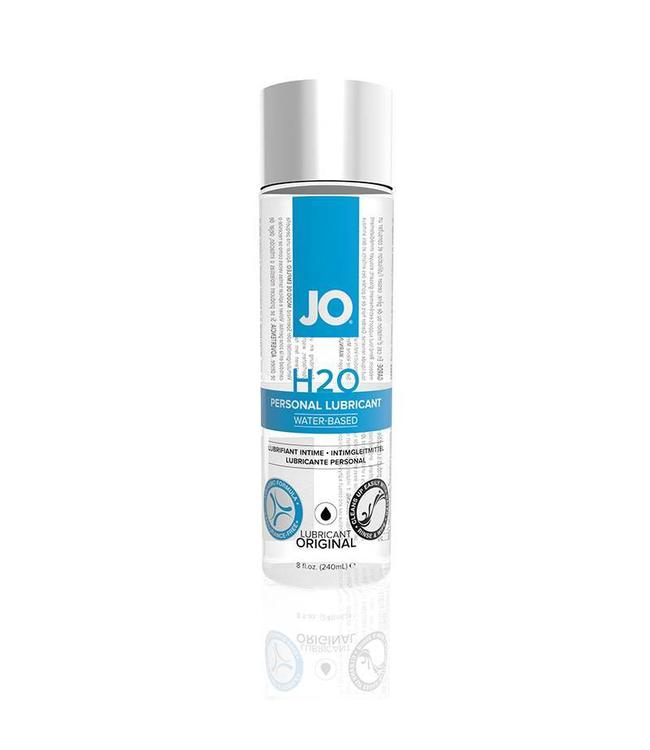 System JO JO H2O Water-Based Personal Lubricant 8oz