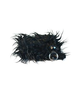 Crystal Delights Minx Tail Plug - Mongolian Black