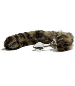 Crystal Delights Minx Tail Plug - Leopard