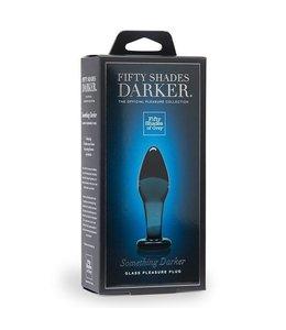Fifty Shades Darker Something Darker Glass Plug