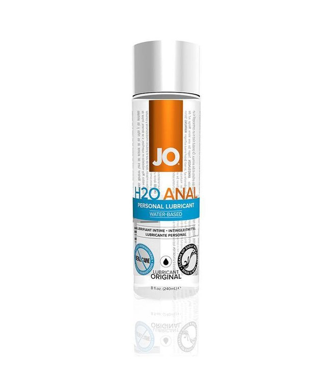 System JO JO H2O Water-Based Anal Lubricant 8oz