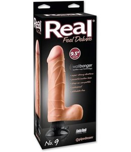 "Real Feel Deluxe Real Feel Deluxe No. 9 - 9.5"" Vibrator"