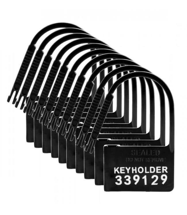 Master Series Keyholder 10 Pack Numbered Plastic Chastity Locks