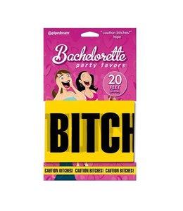 """Bachelorette Party """"Caution Bitches"""" Caution Tape"""