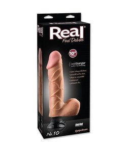 "Real Feel Deluxe Real Feel Deluxe No. 10 - 10"" Vibrator"