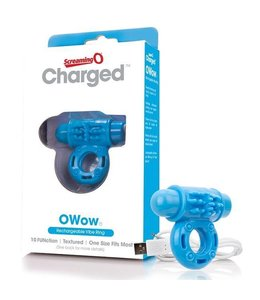 Screaming O Screaming O Charged - O Wow Vibrating Cock Ring