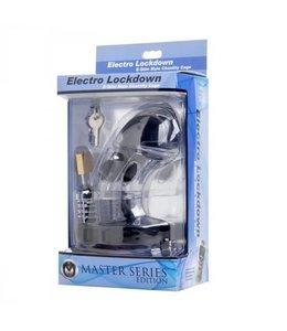 Zeus Electrosex Zeus Electrosex Electro Lockdown Estim Male Chastity Cage