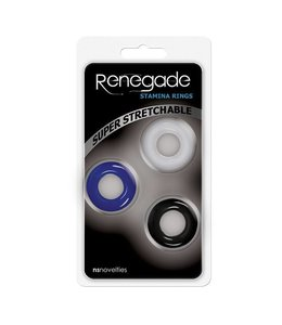 NS Novelties Renegade - Super Stretchable Stamina Rings