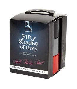 Fifty Shades of Grey Still, Baby Still, Bondage Tape (Triple Pack)