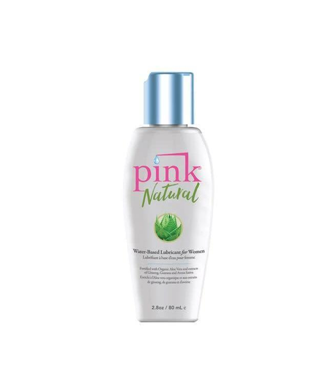 Pink Pink Natural Water-Based Lubricant 2.8oz