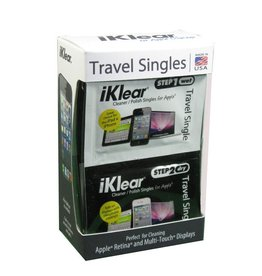iKlear Klear Screen | Travel Singles [Wet/Dry]