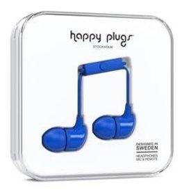 Happy Plugs Happy Plugs | In-Ear Earbuds | Cobalt Blue