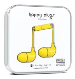 Happy Plugs Happy Plugs | In-Ear Earbuds | Yellow