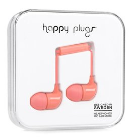 Happy Plugs Happy Plugs | In-Ear Earbuds | Coral