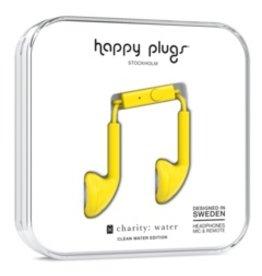 Happy Plugs Happy Plugs | Earbuds | Yellow