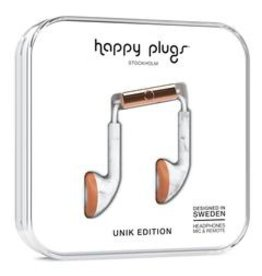 Happy Plugs Happy Plugs | Earbuds | Marble Rose Gold