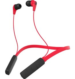 Skullcandy Skullcandy Ink'd 2.0 Bluetooth Earbud Headphones Red/Black