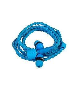 Wraps Wraps Fabric Wrap In-Ear Headphone Blue