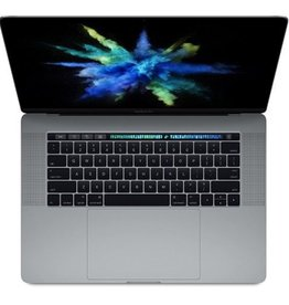 Apple 15-inch MacBook Pro with Touch Bar: 2.8GHz quad-core i7, 256GB - Space Gray