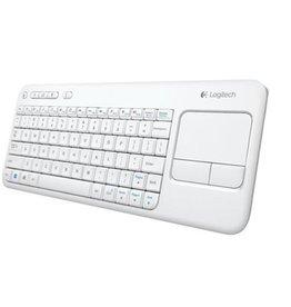 Logitech Logitech   K400 Wireless Keyboard W/Trackpad   White