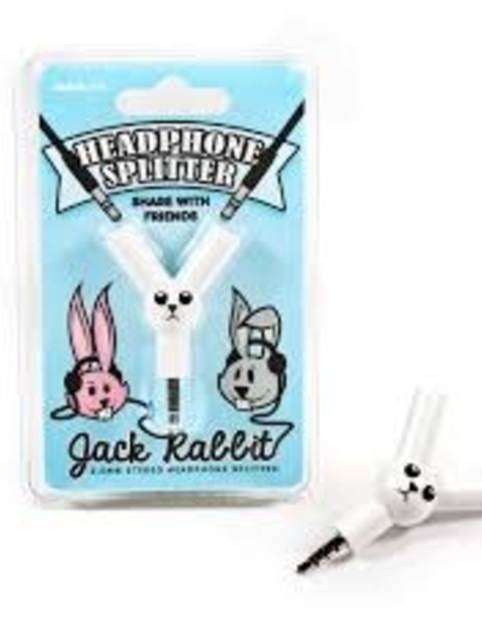 SUCK UK SUCK UK JACK RABBIT HEADPHONE SPLITTER