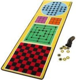 MELISSA & DOUG M&D 4-IN-ONE GAME RUG