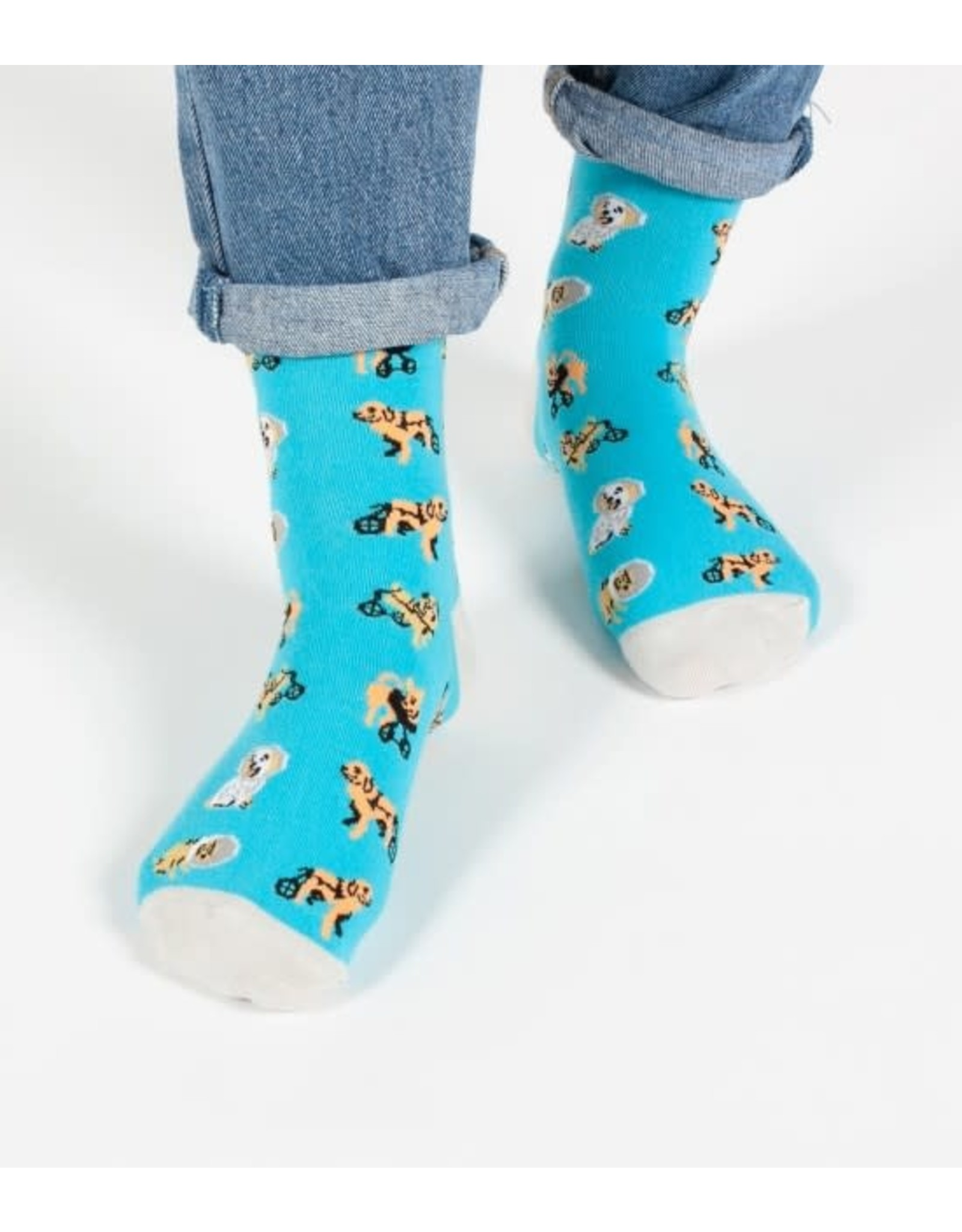 HEADLINES HEADLINE DISABLED DOGS - WOMENS SOCK