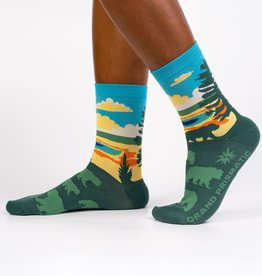 Sock it to Me GRAND PRISMATIC VALLEY WOMENS SOCKS