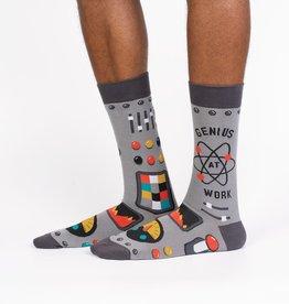 Sock it to Me GENIUS AT WORK KNEE HIGH SOCKS