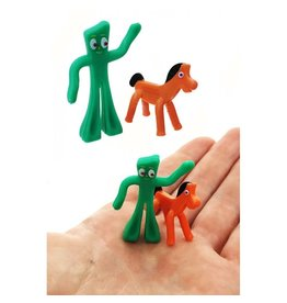 SUPER IMPULSE WORLD'S SMALLEST GUMBY AND POKEY